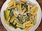 PHOTO: Penne with zucchini and mint
