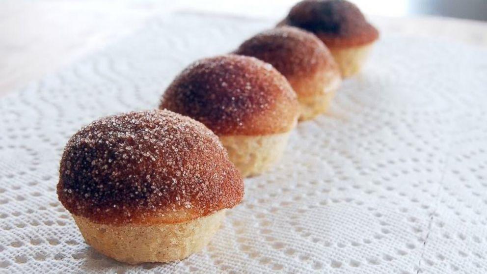 Cinnamon Sugar Donut Muffins Recipe | Girl Who Bakes | Recipe - ABC ...