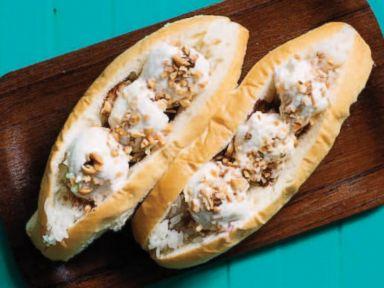 PHOTO: Pok Poks recipe for a Thai-style ice cream sandwich.