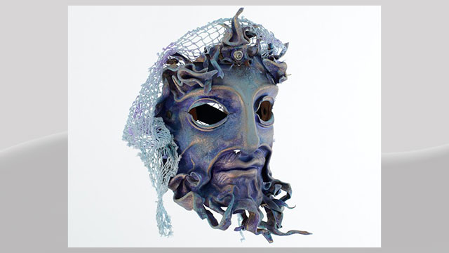 PHOTO: Poseidon Leather Mask