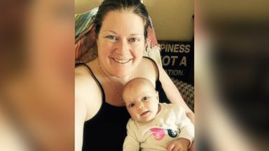 PHOTO: The Instagram takebackpostpartum posted this photo that read, A #postpartum mom with a #mombun, no bra, tank top for easy access nursing, tired, and very happy because shes holding a beautiful baby girl.