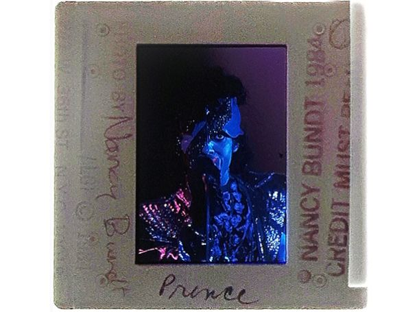 PHOTO: Prince performs on his birthday, June 7, 1984 at the music venue First Avenue in Minneapolis, Minnesota.