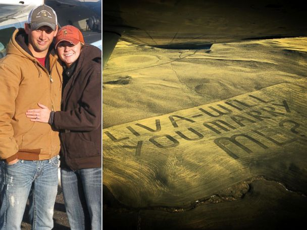 ht proposal sr 131114 4x3 608 Montana Man Plows His Way Into Marriage Proposal