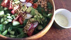 PHOTO: Lara Spencers Garden City salad.
