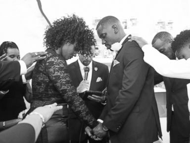 PHOTO: Newlyweds Speak Out About Epic #ForeverDuncan Same Day Wedding Surprise
