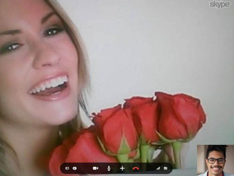 PHOTO: Try a video message instead of a traditional card this Valentines Day.