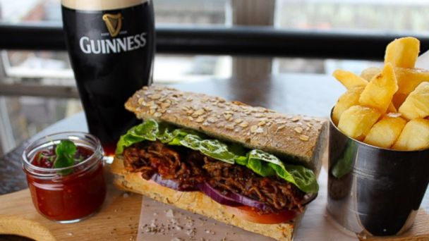 ht sloppy joe sr 140313 16x9 608 Tips from Guinness Head Chef On How to Cook with the Irish Brew for St. Patricks Day