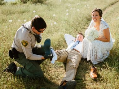Groom Bit by Rattlesnake During Wedding Photo Shoot