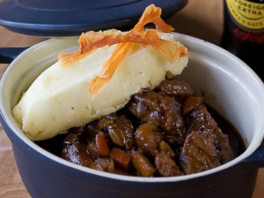 PHOTO: Beef and Guinness stew.