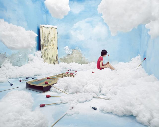 ht studio art the little match girl sr 131210 Artist Creates Surreal Scenes in Tiny Studio