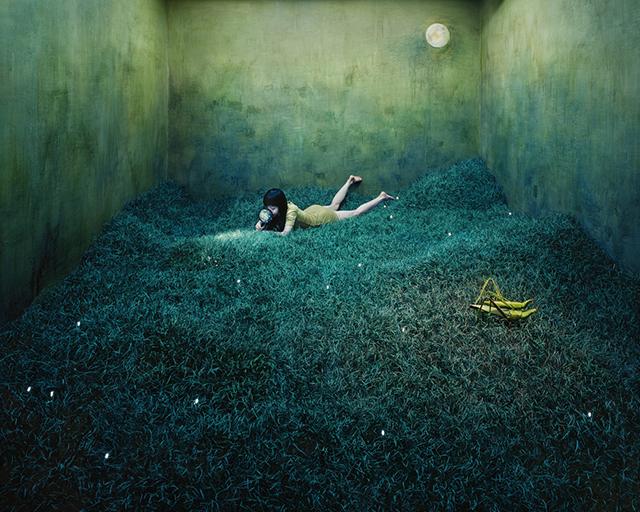 ht studio art treasure hunt sr 131210 Artist Creates Surreal Scenes in Tiny Studio