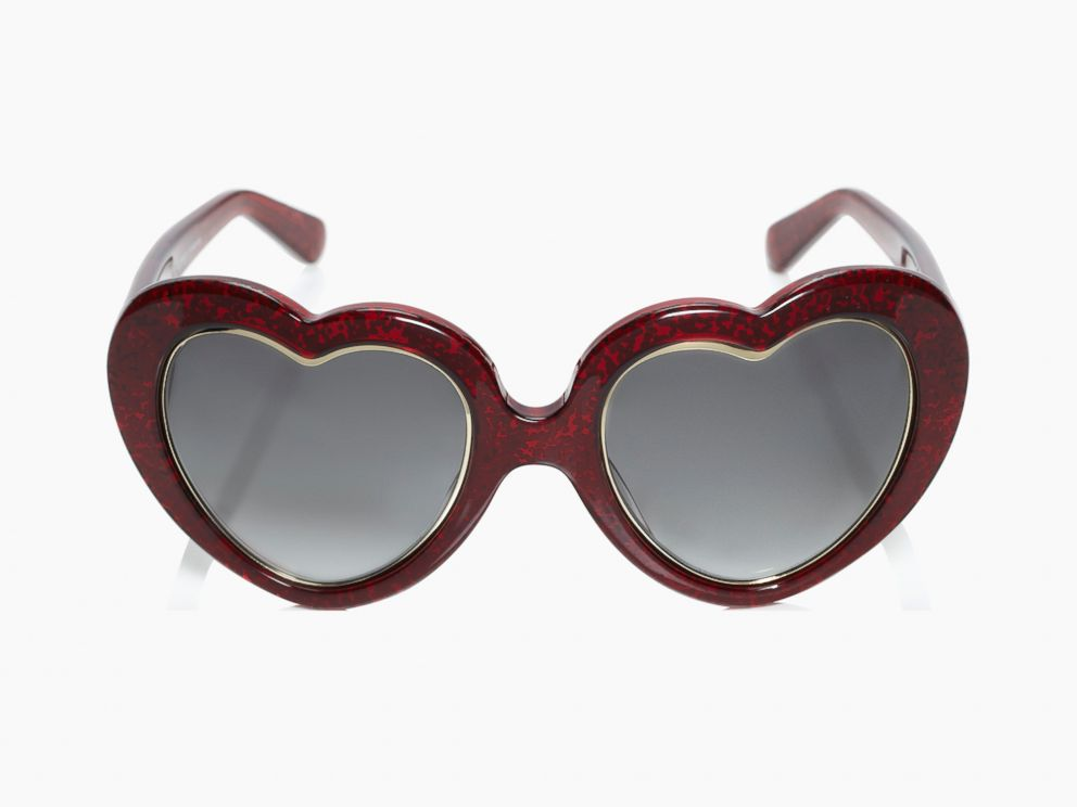 PHOTO: Tayla heart-shaped shades, $165