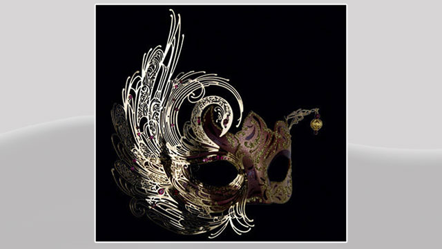 PHOTO:Swan Lux Filigree Mask