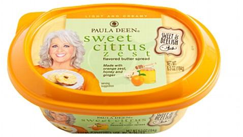 ht sweet citrus paula deen butter 2 thg 130610 wblog Queen of (Less) Butter Paula Deen Introduces Line of Flavored Spreads