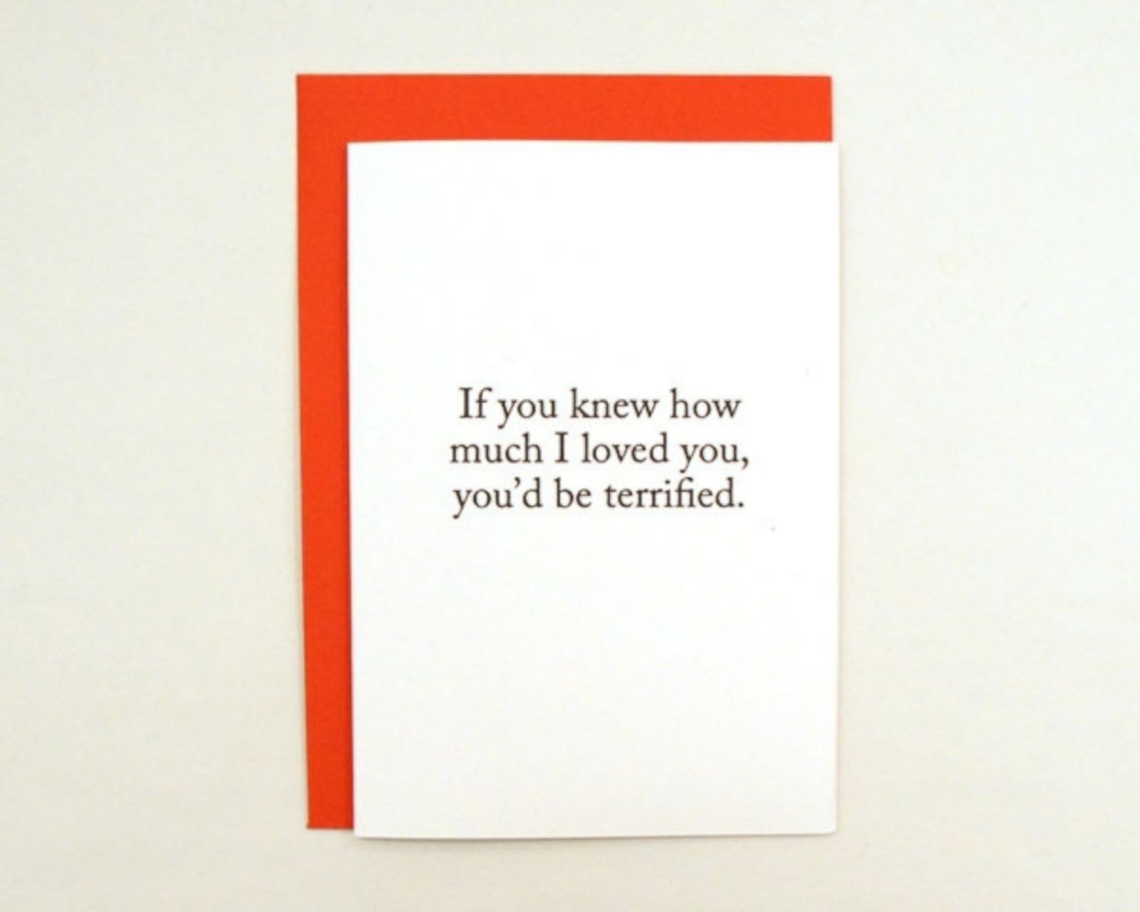 NotSoSweet Valentines Day Cards Photos – Stalker Valentine Card