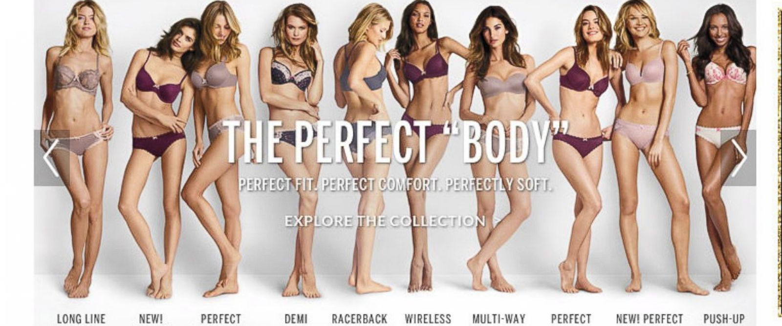 PHOTO: The Perfect Body by Victorias Secret.