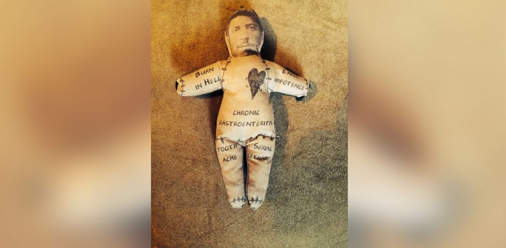 PHOTO: A London store is offering to make voodoo dolls of your exes this Valentines Day.