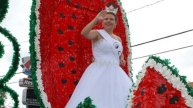PHOTO: Kayleigh Peters is the 2015 Watermelon Thump queen.