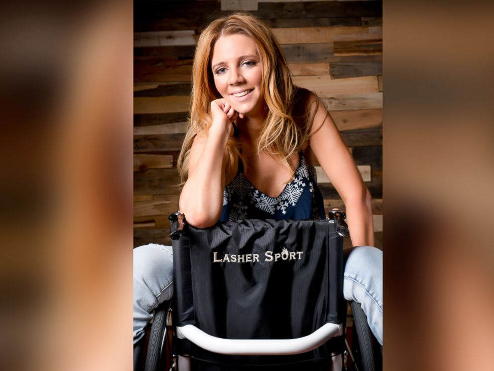 PHOTO: A woman who was paralyzed at her bachelorette party and then married has stared a social media campaign to show that she -- and others -- can be sexy despite their disability.