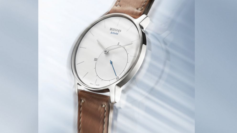 PHOTO: The Activité smart watch and activity tracker from Withings is seen in this undated handout photo.