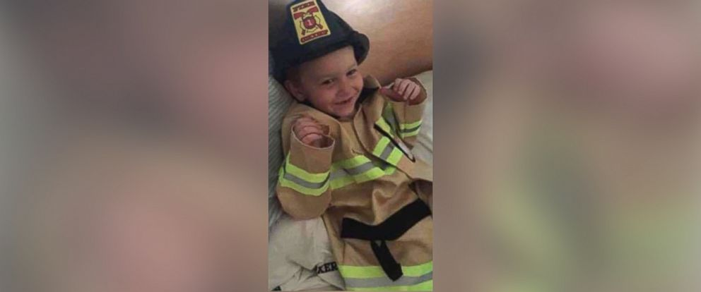 PHOTO: 4-year-old James Raugh before his death in a house fire on Jan. 8, 2018.
