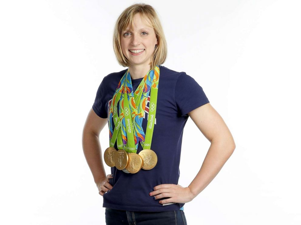 PHOTO: Swimmer Katie Ledecky of the United States poses for a portrait on Day 8 of the Rio 2016 Olympic Games on Aug. 13, 2016 in Rio de Janeiro, Brazil.