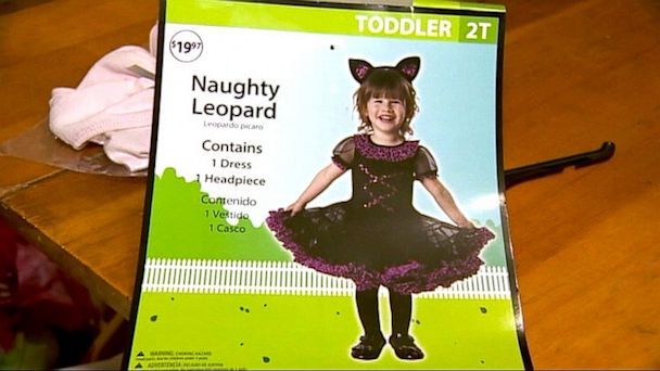 katu naughty leopard costume lpl 130926 16x9 608 Walmart Pulls Naughty Leopard Costume for Kids