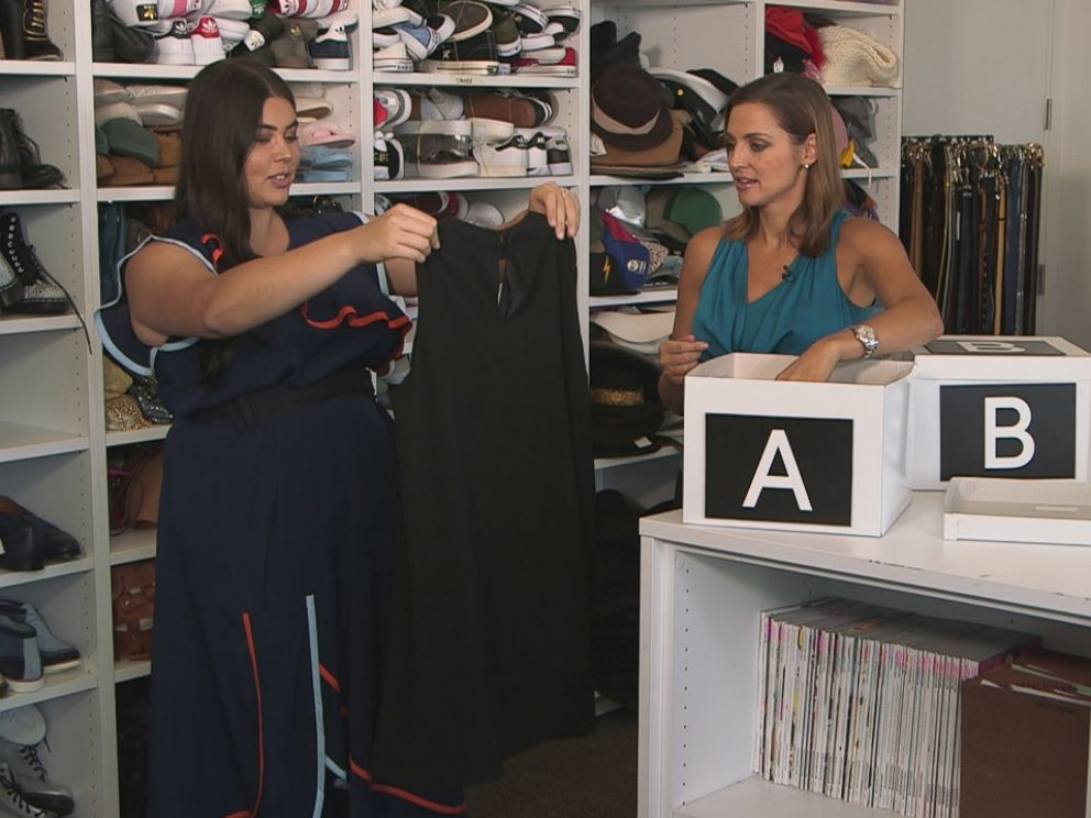 PHOTO: Glamour magazines fashion features editor Lauren Chan tried out three clothing box services for GMA.