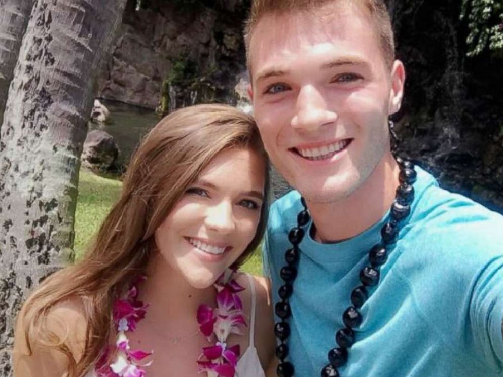 PHOTO: Michelle and Josh sent a snap chat photo enjoying their time together at the Grand Wailea in Maui.