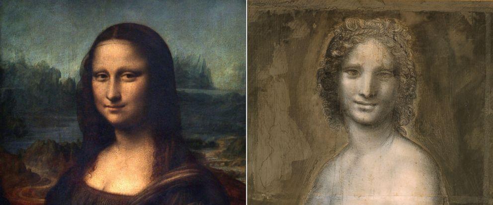 Experts believe Leonardo da Vinci drew Nude Mona Lisa