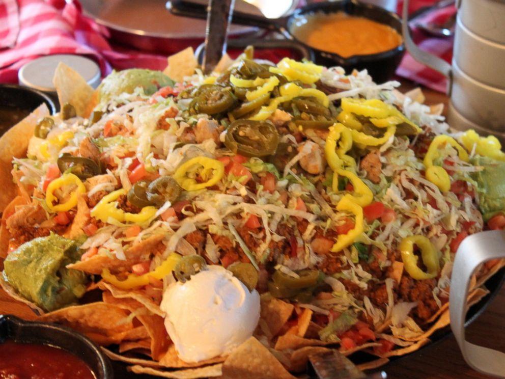 PHOTO: New menu item in a Walt Disney World Restaurant is an $85 plate of nachos.
