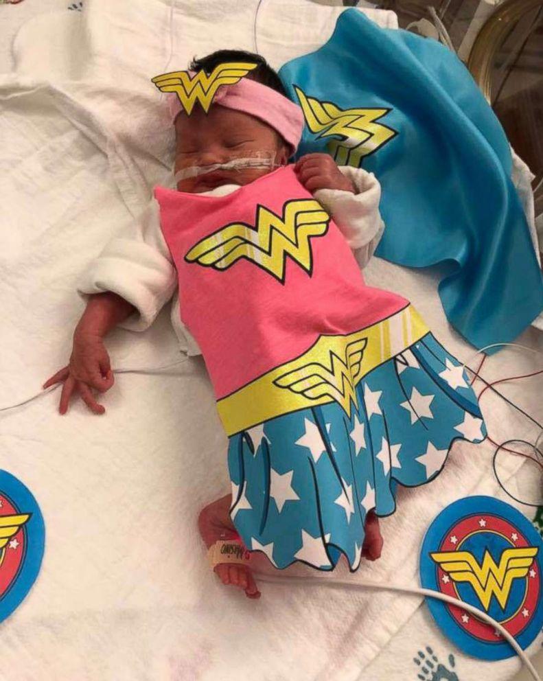 PHOTO: Adaline makes an adorable Wonder Woman.
