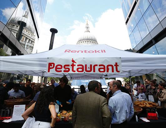 Rentokil Introduces Bug Based Pop-Up Restaurant