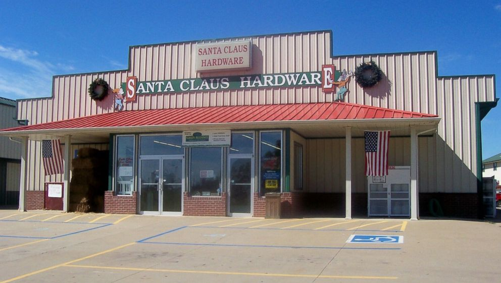 PHOTO: Santa Claus Hardware is one of many stores in Santa Claus, Ind., named after Santa Claus.