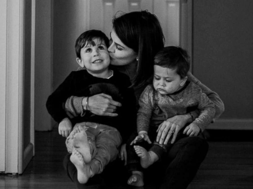PHOTO: Sara Chivers fought and beat brain cancer in 2008 but it returned in March. She wrote a goodbye letter to her sons.