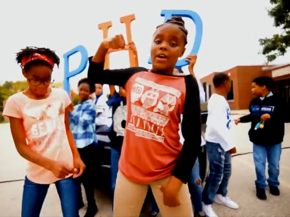PHOTO: The educational rap video and song, Excellence First, which encourages the message of staying in school, has been viewed, and learned by hundreds of thousands of people on social media and YouTube.