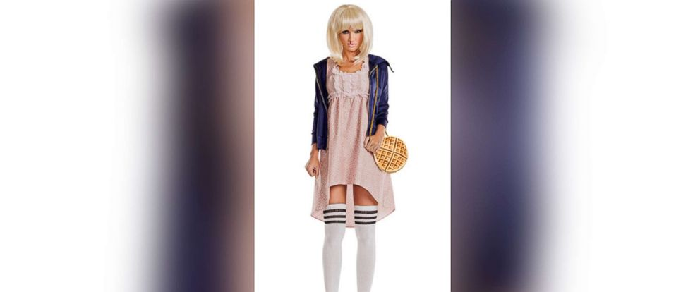 "PHOTO: ""Upside Down Honey"" costume, from yandy.com, modeled after ""Stranger Things"" character Eleven."