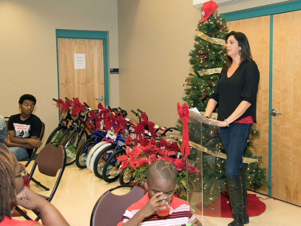 PHOTO: Carolynn Smith of Tampa, Florida, hosted an inner-city Christmas charity event two years ago.