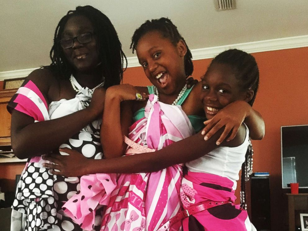 PHOTO: DaShoan and Sofia Olds of Florida, told ABC News that the adoption of Necia, 12, Eric, 10, Erica, 10, Zavian, 9, Dava, 8, Keyon, 5, and Reggie, 4, will become official in September.
