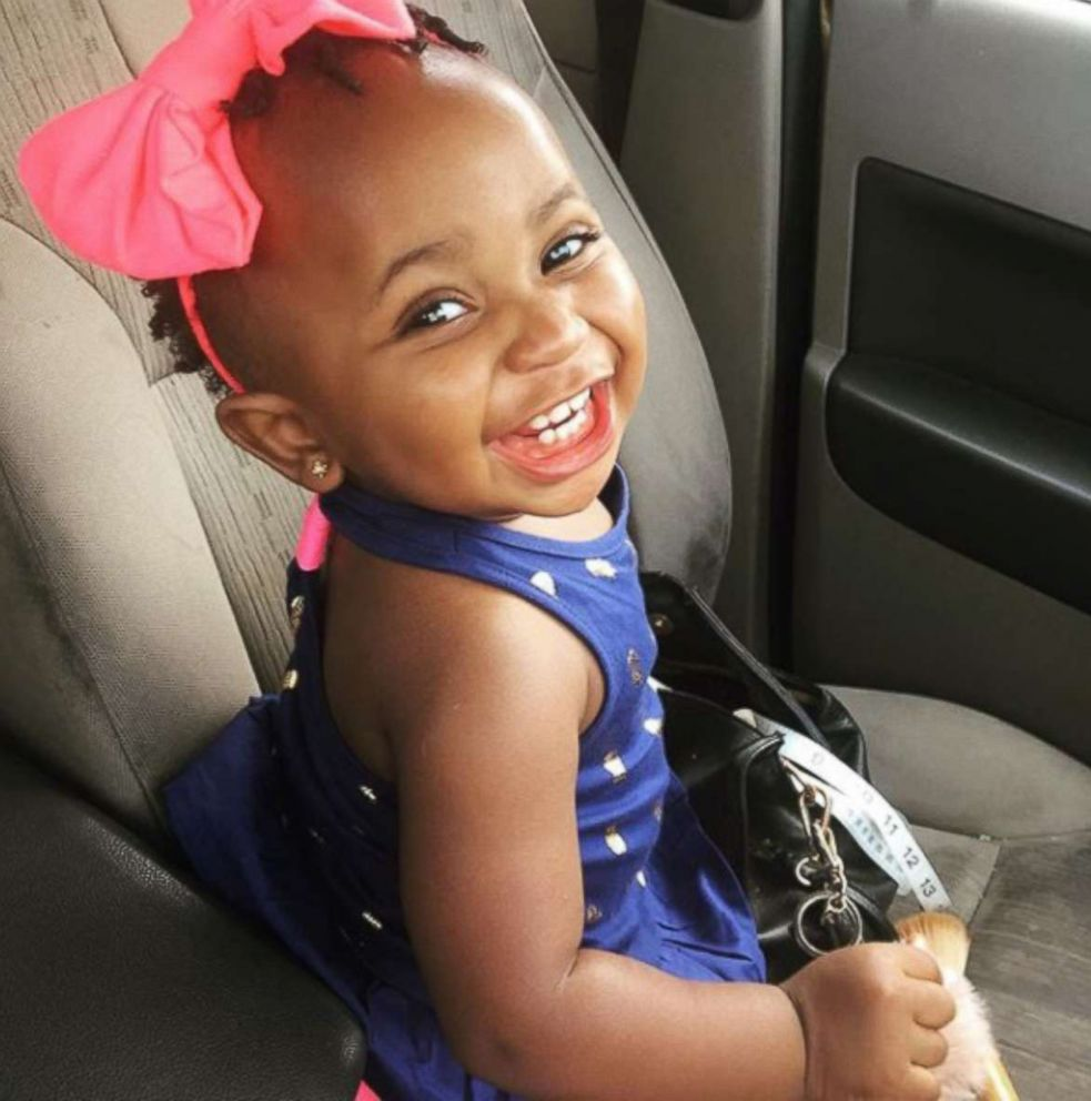 PHOTO: Abrielle, 1, seen in an undated photo taken by her mother, Chiquia Waters of Ohio.
