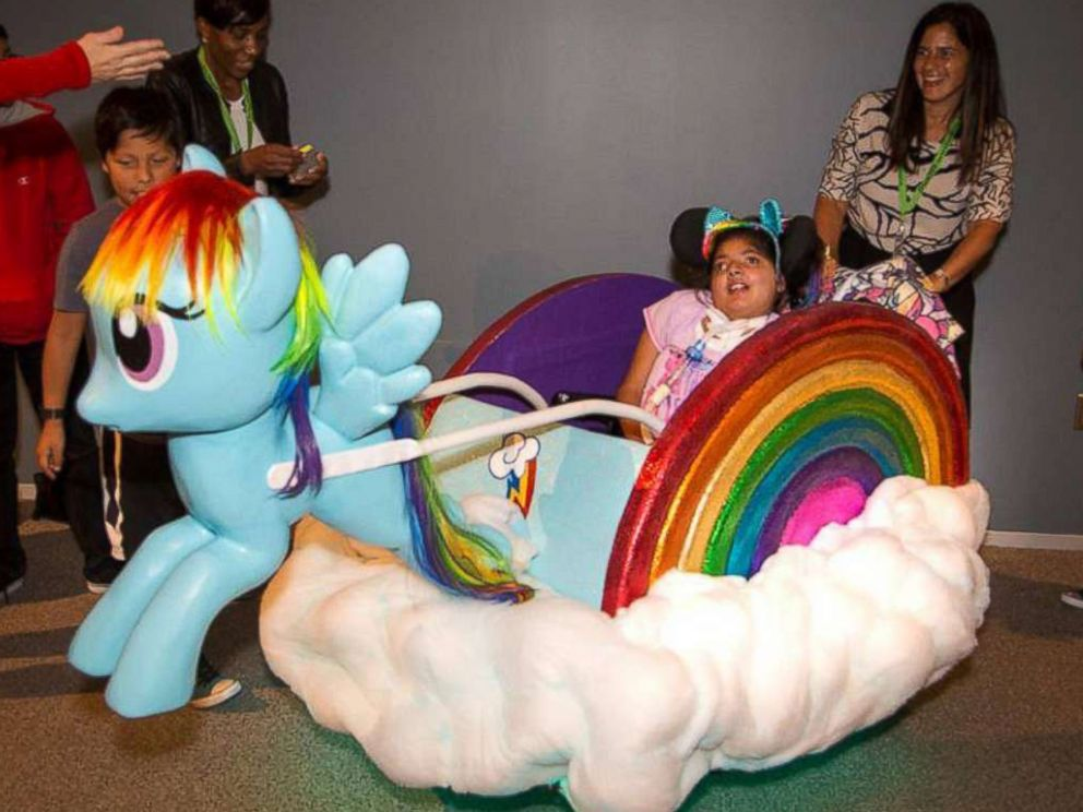 PHOTO: Dalia Fein, 11, of Framingham, Massachusetts, is obsessed with My Little Pony, her mom said.