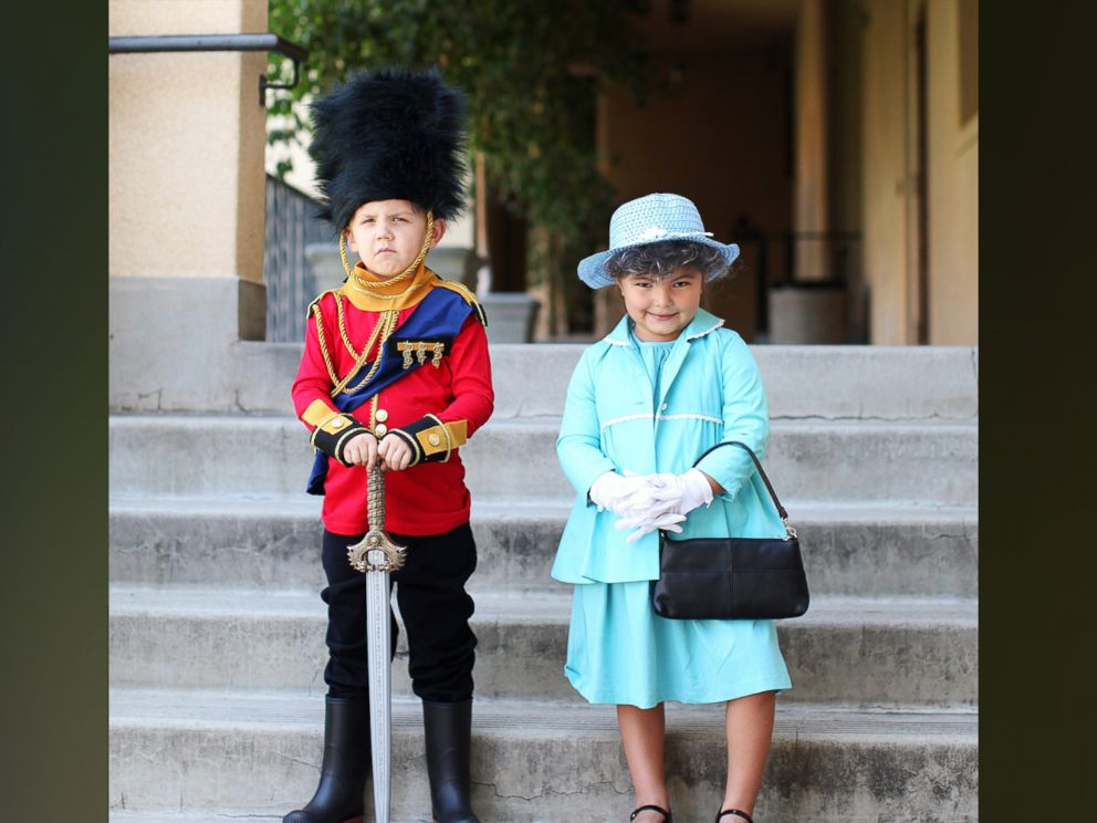 PHOTO: Photographer Gina Lee created a Queen Elizabeth II costume for her 5-year-old daughter, Willow.