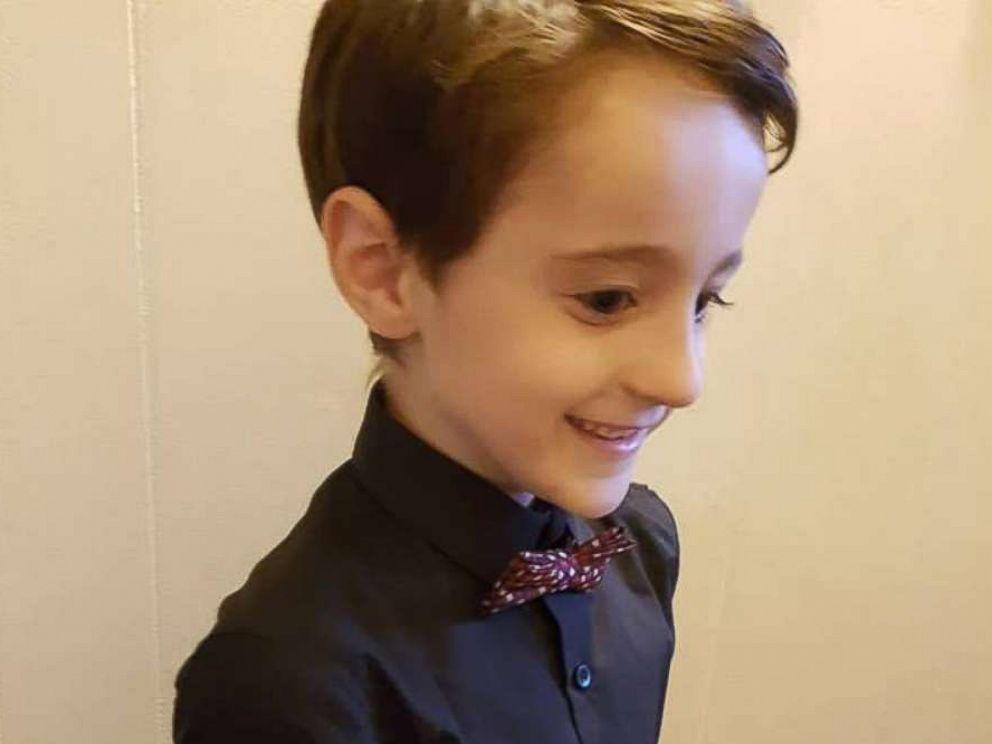 PHOTO: Wyatt Lafreniere, 6, lives in Rouyn-Noranda, Quebec.