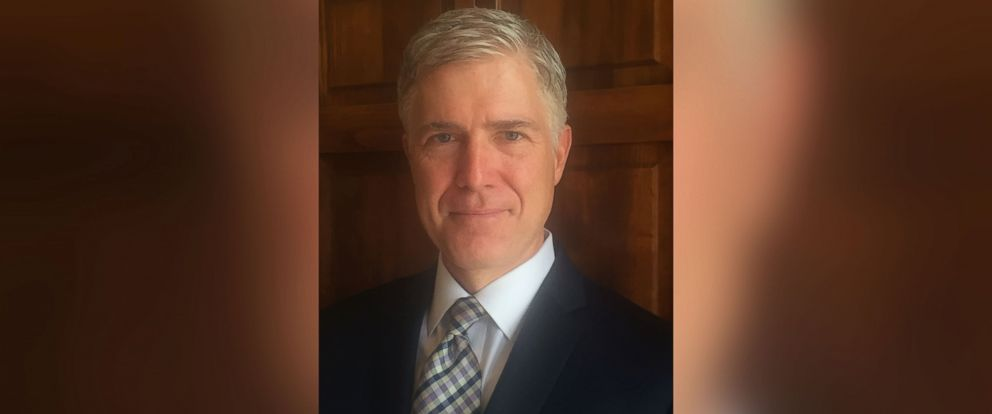 PHOTO: Judge Neil Gorsuch.