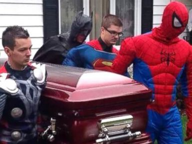 Funeral Fit for a 5-Year-Old Superhero