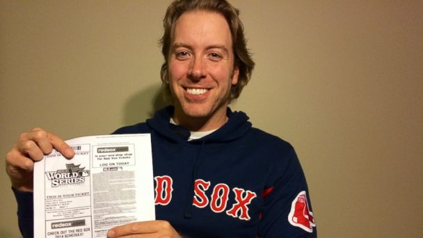 ht Erik Jabs kb 131023 16x9 608 Baseball Fan Who Bought $6 World Series Ticket Going to the Game For Free