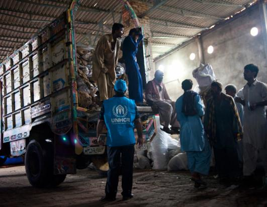 UNHCR Pakistan Flood Relief