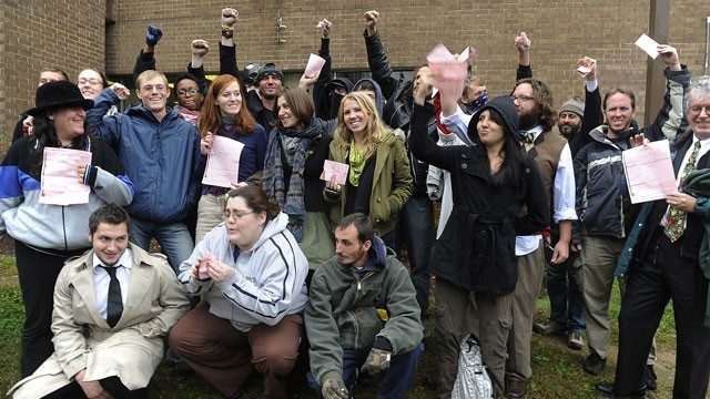 PHOTO: Occupy Nashville Arrests