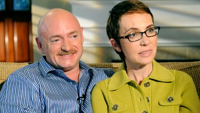 PHOTO: Congresswoman Gabby Giffords and her husband Mark Kelly share their story with ABC's Diane Sawyer. Special edition of &quot;20/20&quot; airs Monday, November 14 at 10:00 PM/ET.
