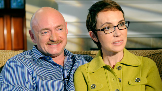 "PHOTO: Congresswoman Gabby Giffords and her husband Mark Kelly share their story with ABC's Diane Sawyer. Special edition of ""20/20"" airs Monday, November 14 at 10:00 PM/ET."